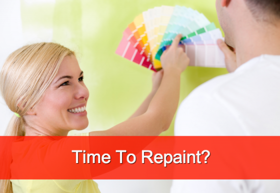 When Is It Time To Repaint Your House?